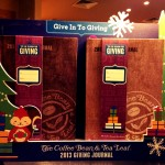 Coffee Bean Christmas 2013 Planners