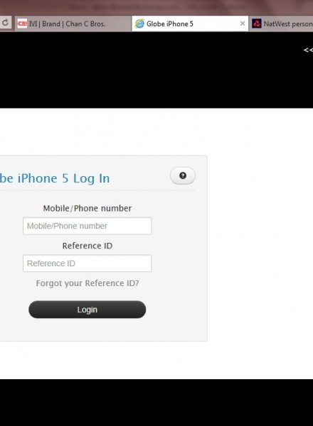 Globe Telecom iPhone 5 registration website